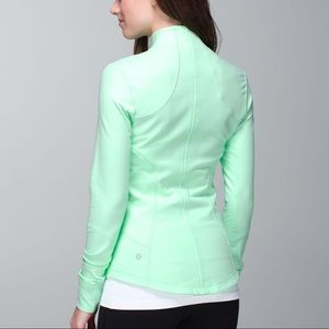 EUC Lululemon Mint Forme Jacket Mint Teal Green 4
